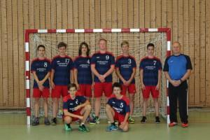 Mannschaftsfoto männliche B-Jugend