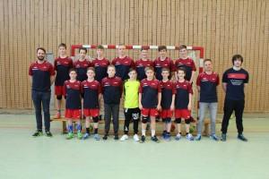 Mannschaftsfoto männliche C-Jugend