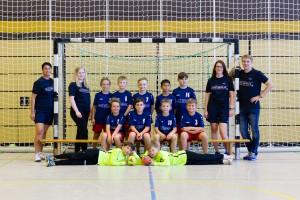Mannschaftsfoto männliche E1-Jugend