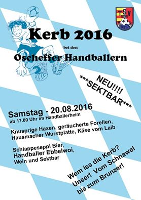 Kerb Plakat 2016 Oscheff