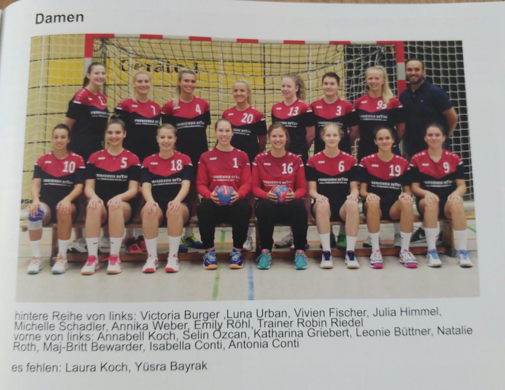 Unsere neue Damenmannschaft